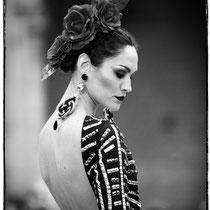 moda flamenca, pasarela wappissima, moda flamenca 2016, retrato de moda flamenca