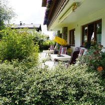 Terrasse von Landhaus Wieser