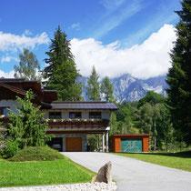 Landhaus Wieser im Sommer