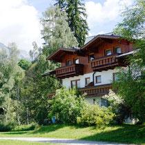 Landhaus Wieser vom Westen aus gesehen