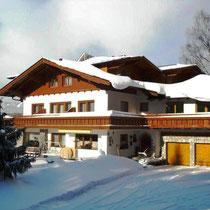 Landhaus Wieser im Winter