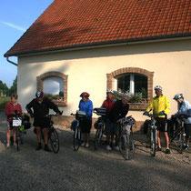 Les Cyclistes au Blockhaus