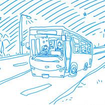 異国の深夜バスは楽しい