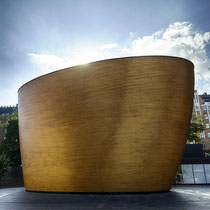 "Kamppi Chapel - the ""Chapel of Silence""; a wonderful place to calm down and have a moment of silence."