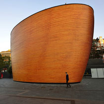 "Kamppi Chapel - the ""Chapel of Silence"""