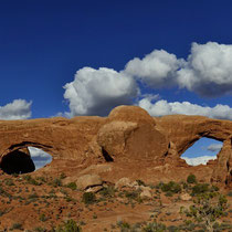 Double Arch - Arches National Park [Moab/Utah/USA]