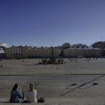 Senaatitori (Senat Square - Senatsplatz)  [Helsinki - Finland/Finnland]