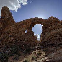 Tourret Arch - Arches National Park [Moab/Utah/USA]