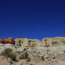 Toadstool rocks, Grand Staircase-Escalante - Highway No. 89 Kanab/Utah to Page/Arizona