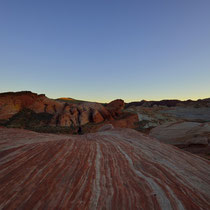 Way to Fire Wave, Valley of Fire State Park [Nevada/USA]
