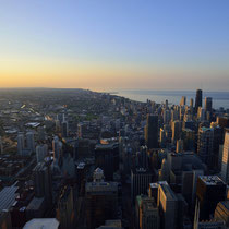 Chicago Sunset (from Skydeck Chicago / Willis Tower)