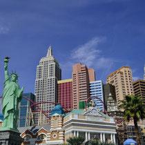 New York, New York in Las Vegas [Nevada/USA]