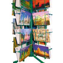 Expositor de mostrador (36 huecos - postales vistas)