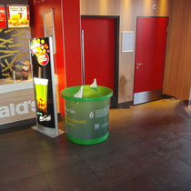 Spendentrichter K88 im Mc Donald´s in Wallau