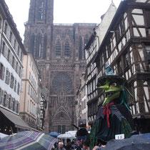 Les parapluies de Strasbourg...