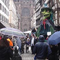 Carnaval sous la pluie 2013