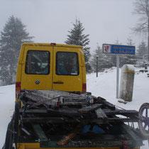 Le passage du Col de l'Engin... à 20km d'Abresch'