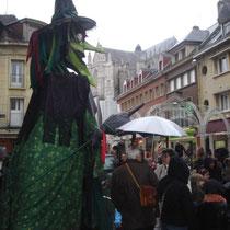 Beauvais 2011... sous la pluie.