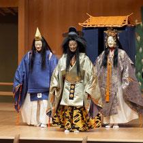 1月26日『絵馬』後シテ 和久荘太郎、女神 辰巳大二郎、男神 金野泰大