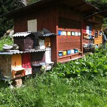 Achterbehandelingskasten in Zermatt