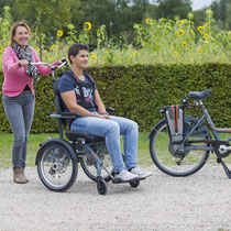 Das Rollstuhlrad von Van Raam, O-Pair