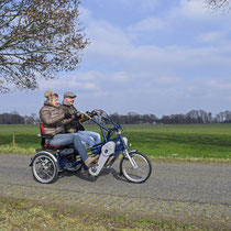 Van Raam Fun2Go Tandem Dreirad für Erwachsene