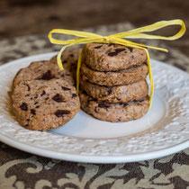 Knackige Schoko-Hafer-Kekse - Rezepte für Kinderparty und Kindergeburtstag