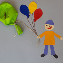 Luftballoneinladung