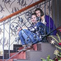 Fotoshooting mit Lina und Rike