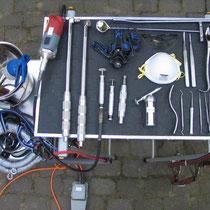 Professionelles Werkzeug für eine fachgerechte Behandlung