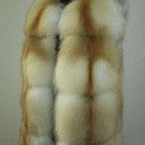 Жилетик на весну. Качественная лиса-Сибирка. Цена 25 000.