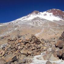 Fundstätte archäologisch auf ca. 5700 m, Llullallaco, Socompa, Thron der Inka