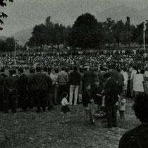 Partido jugado en Altzarrate que certificó el ascenso a Tercera del Villosa en 1966.