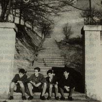 Escaleras de acceso a Altzarrate. Año 1959.
