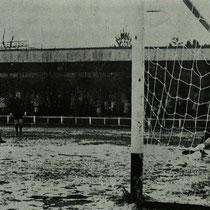 Imagen del encuentro entre el Villosa-Lugo, disputado en Altzarrate el 5 de marzo de 1972 y que terminó con victoria local por 3-0.