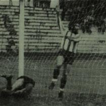 Gol del Llodio en Ellakuri. Temporada 1980-81.