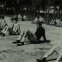 Pretemporada de 1967 en Altzarrate.