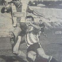 Llodio-Alavés del Torneo San Roque de 1988, arbitrado por Iturralde González.