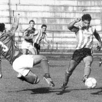 Partido correspondiente a las primeras jornadas de Liga de la temporada 1987-88.