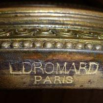 estampille Léon Dromard-ebeniste PARIS fin XIXème