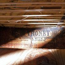 estampille Thonet - 1888-1922 sur sièges cannés