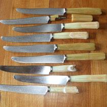 Restauration de couteau de table