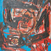 Wut-Bürger 2018 Acryl auf Leinwand 60 x 80