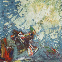 Fallschirmspringer 2007 Acryl auf Leinwand 60x80