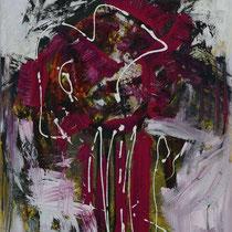 Die Qualle 2009 Acryl auf Leinwand 105x150
