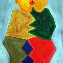 Paar I 2007 Acryl auf Leinwand 120x160