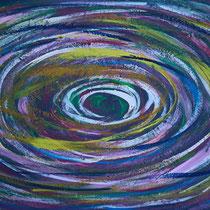 Durchsicht 2016 Acryl auf Sperrholz  85 x 50