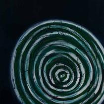Der Sog 2009  Acryl auf Leinwand 110x150