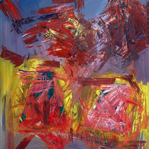 Paar II 2007 Acryl auf Leinwand 120x160