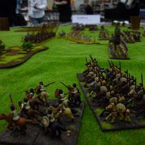 Die Reiter der Römer aus der Nähe betrachtet